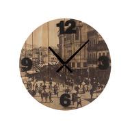Ceas de Perete Orașe Vintage Coconut