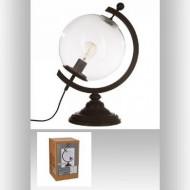 Lampa metalică glob, transparentă , PM1366363