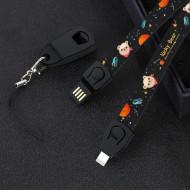 Cablu De Date Si Incarcare iPhone Lucky Bear 86cm