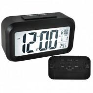 Ceas Led digital de birou, camera cu alarma, PM-0011, negru