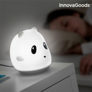 Lampa tactilă reîncărcabilă din silicon Panda InnovaGoods Home LED