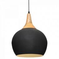 Lustra suspendata metalica, negru PM1732493