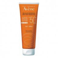 Avène Sun Sensitive lapte protector pentru piele sensibilă SPF 50+