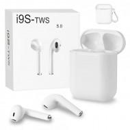Casti audio wireless cu bluetooth i9S tip in-ear pentru IOS, Windows si Android, 10103