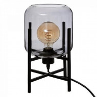 Lampa sticlă afumată Rob, gri afumată PM1682493