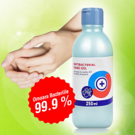 Gel De Maini Dezifectant 70% Antibacterian 250 ml