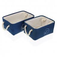 Set cosulete depozitare Nautical Textile (2 bucati)