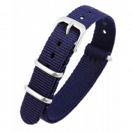 Curea de ceas, din material textil, Culoare Bluemarin, 14 mm, PM8600005-1403