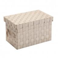 Cutie depozitare cu capac (18 x 17 x 30 cm)