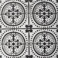 Lampa Soclu Caro , alb-negru , PM1732413