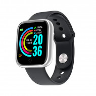 Smartwatch Y68, Fitness Tracker, Bluetooth, Silver