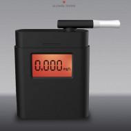 Alcool tester (Etilotest) profesional, Tester alcoolemie, Advanced Sensor, Husa transport, 5 mustiucuri incluse, 3 moduri de testare, TESTER-1
