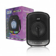 Boxa Portabila GEDI-691, Microfon, Telecomanda, Bluetooth, LED,FM, USB