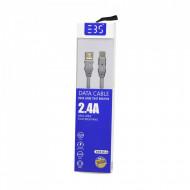 Cablu de Date USB-C cu indicator LED de incarcare 1.2m