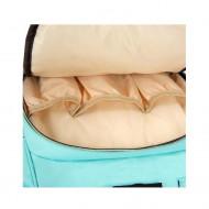 Rucsac / geanta multifunctionala pentru mamici, Living Traveling Share PM-0014, atasabil la carucior, organizator articole, Roz
