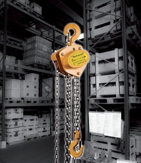 Poze Palan manual cu lant 0.5 tone, lungime: 3 metri