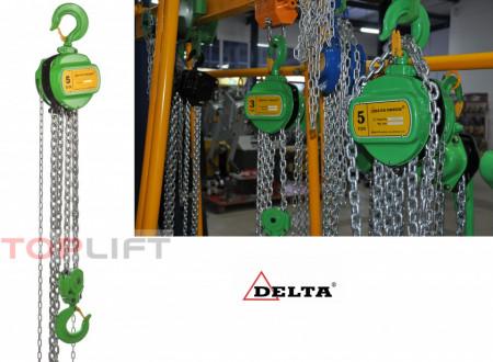 Poze Palan manual cu lant 5 tone, lungime: 10 metri
