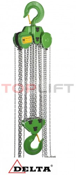 Poze Palan manual cu lant 20 tone, lungime: 6 metri