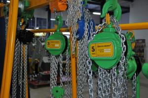 Palan manual cu lant 1.5 tone, lungime: 6 metri