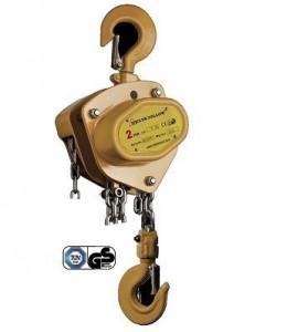 Palan manual cu lant 3 tone, lungime: 6 metri