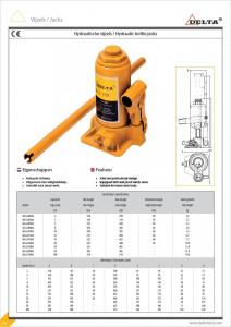 Cric hidraulic tip butelie 2 tone