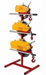Troliu manual cu cablu 800 kg (Tirfor)