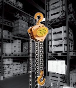 Palan manual cu lant 1 tona, lungime: 6 metri