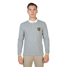 Tricou polo Oxford University TRINITY-POLO-ML-GREY
