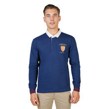 Tricou polo Oxford University ORIEL-POLO-ML-NAVY