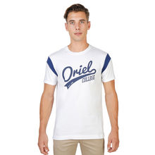 Tricouri Oxford University ORIEL-VARSITY-MM-WHITE