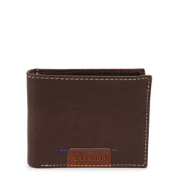 Portofele Carrera Jeans SPENCER_CB1867_DKBROWN
