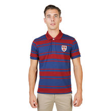 Tricou polo Oxford University QUEENS-RUGBY-MM-RED