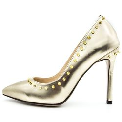 Pantofi Stiletto ,Cod:01-2017 Golden Shine