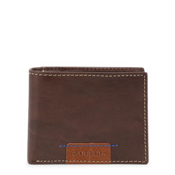 Portofele Carrera Jeans SPENCER_CB1862B_DKBROWN