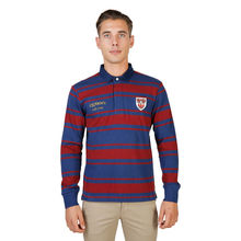 Tricou polo Oxford University QUEENS-RUGBY-ML-RED