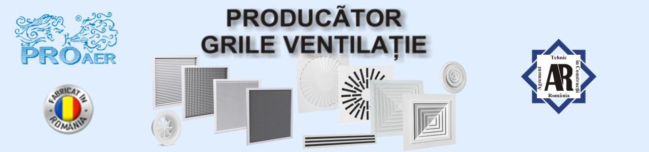 Producator grile ventilatie si difuzoare