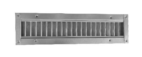Grile simpla deflexie tubulatura rectangulara SD-R