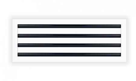 Slot difuzor cu 4 fante si deflector L=2000