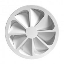 Difuzor elicoidal circular swirl RWS-2 400