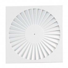 Difuzor elicoidal patrat swirl SWA-1 500