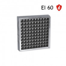 Grila antifoc 500x100 EI60