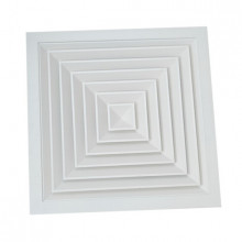 Anemostat patrat 595x595 / 450x450 tavan casetat