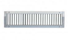 Grila simpla deflexie 825x175 tub circular
