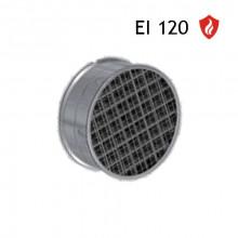 Grila antifoc circulara 100 EI120