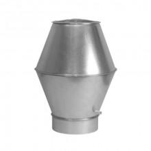 Palarie ventilatie refulare verticala 450