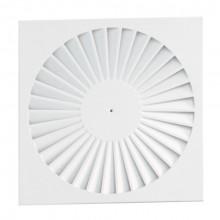 Difuzor elicoidal patrat swirl SWA-1 625