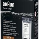 Braun kávéfőző tisztítószer 2x100ml BRSC003