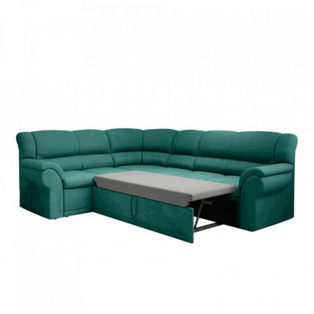 Canapea, smarald, stânga, AMELIA