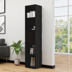 Biblioteca, negru, 36 x 30 x 171 cm, PAL - V802868V