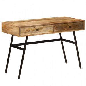 Birou de scris cu sertare, 110x50x76 cm, lemn masiv de mango - V246718V